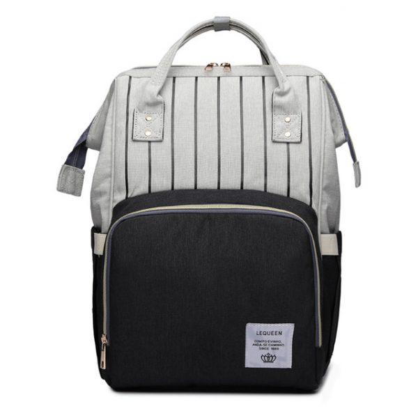 Серо-черный рюкзак