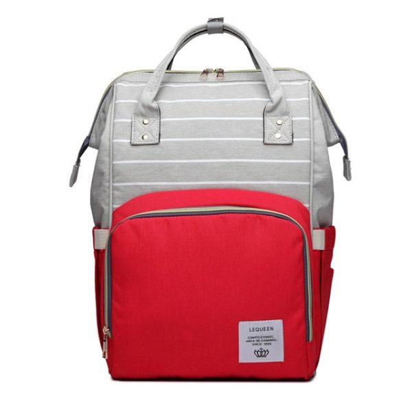 Красно-серый рюкзак