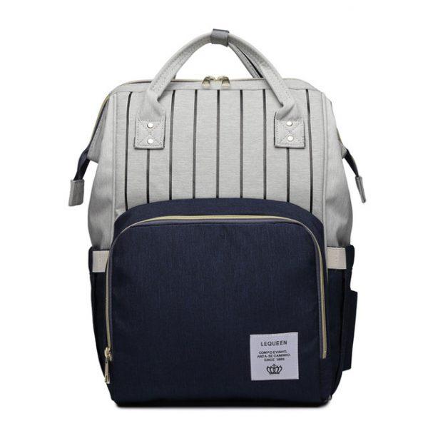 Серо-синий рюкзак