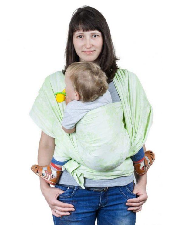 sling-sharf gerba zeleniy 3