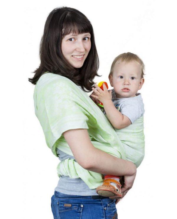 sling-sharf gerba zeleniy 4