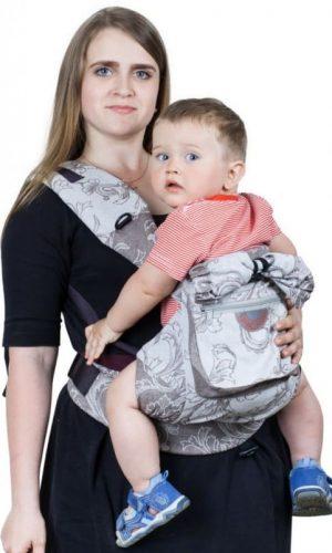 sling-rukzak serebryaniy