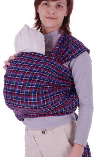 sling-sharf sinaya kletka