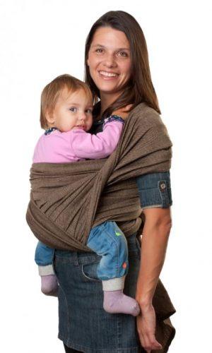 sling-sharf korichneviy