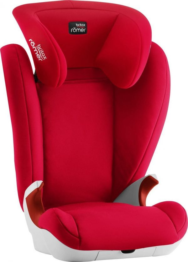 avtokreslo Britax Roemer King II Fire Red 15-36 kg 4