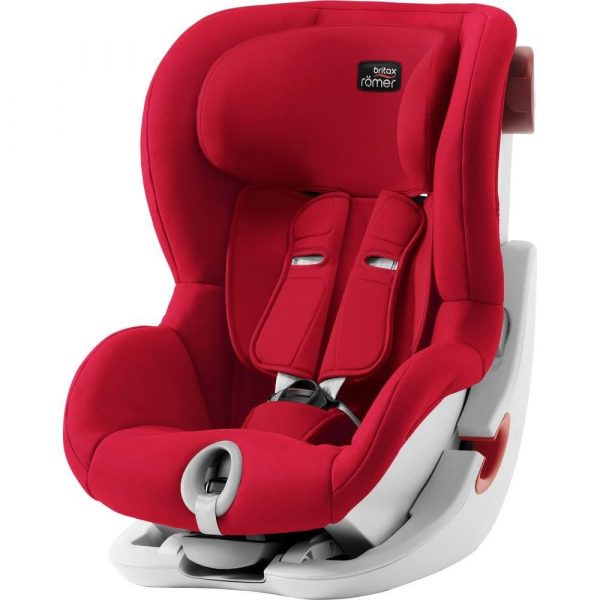 avtokreslo Britax Roemer King II Fire Red