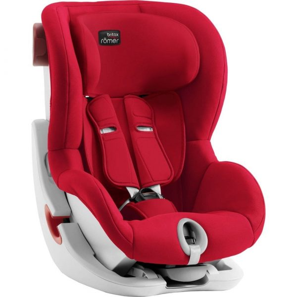 avtokreslo Britax Roemer King II Fire Red 4