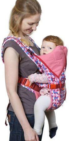 rukzak-kenguru BabyActive Choice karnaval/rozoviy